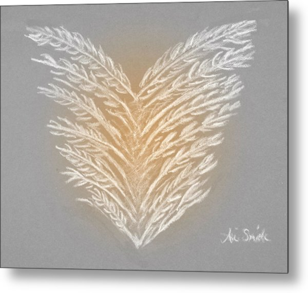 Clean Heart Version 2 Metal Print by Ani Todd Smith