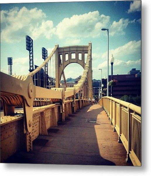 Clemente Bridge Metal Print