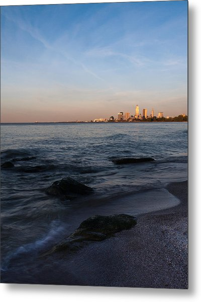 Cleveland From The Shadows Metal Print