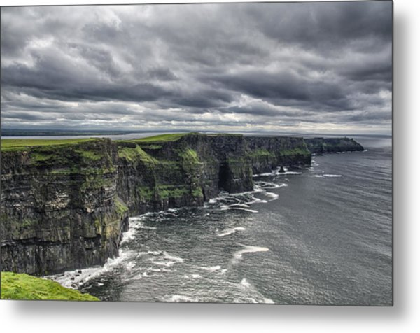 Cliffs Of Moher Metal Print by John Mee
