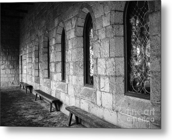 Cloisters Metal Print by Maria Scarfone