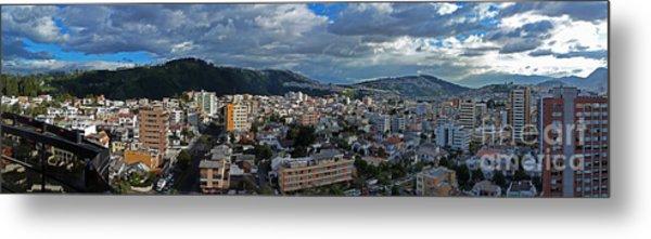 Close Of Business - Quito - Ecuador Metal Print