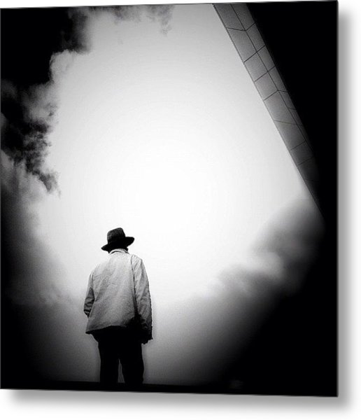Cloud Cowboy - Concrete Jungle Metal Print