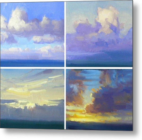 Cloud Studies Metal Print by Richard Robinson