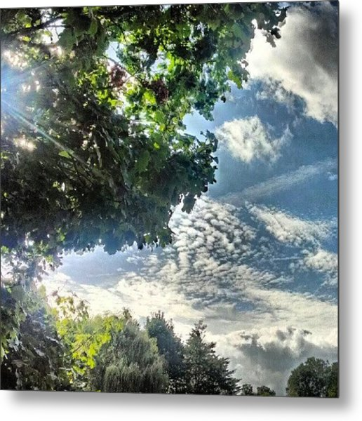 #cloudporn I'm Obsessed With #clouds Metal Print