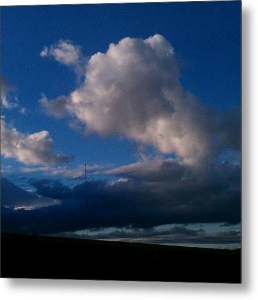 #clouds #cloud #cloudporn #tagsforlikes Metal Print
