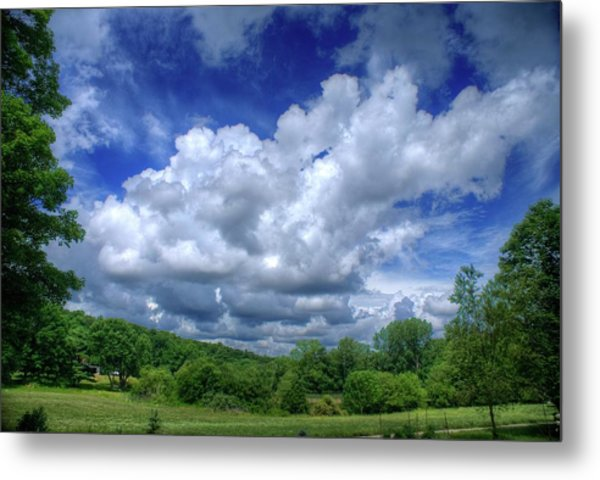 Clouds Metal Print by Matthew Green