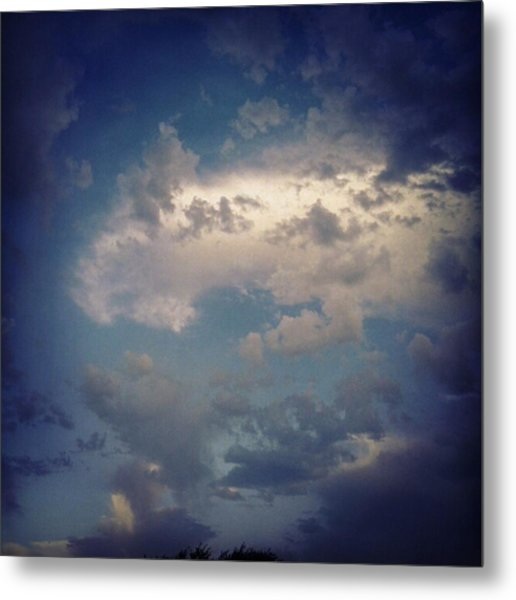 #clouds #sky #nature #andrography Metal Print by Kel Hill