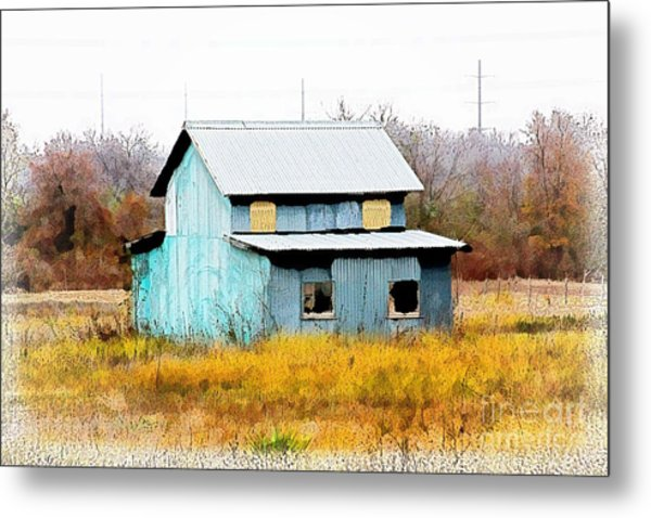 Co-ed Building - No. 162 Metal Print