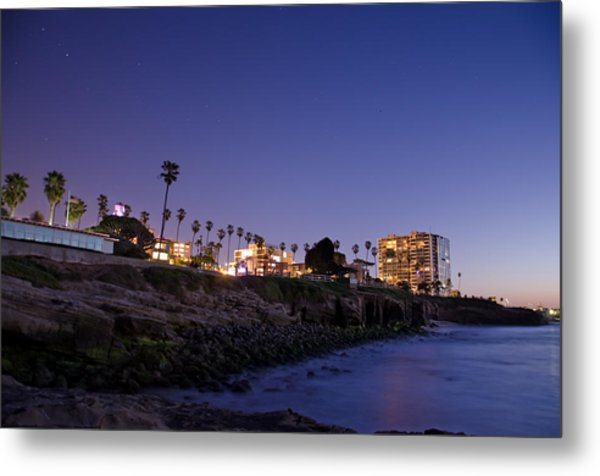 Metal Print featuring the photograph Coastal Sunset by Margaret Pitcher