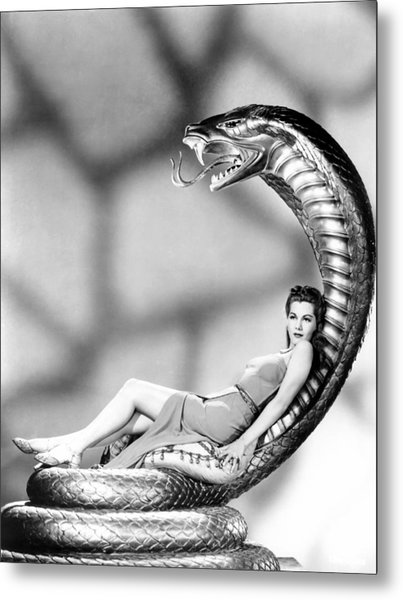Cobra Woman, Maria Montez, 1944 Metal Print by Everett