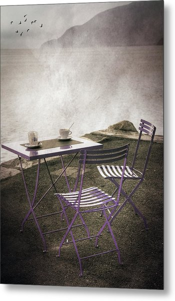 Coffee Table Metal Print