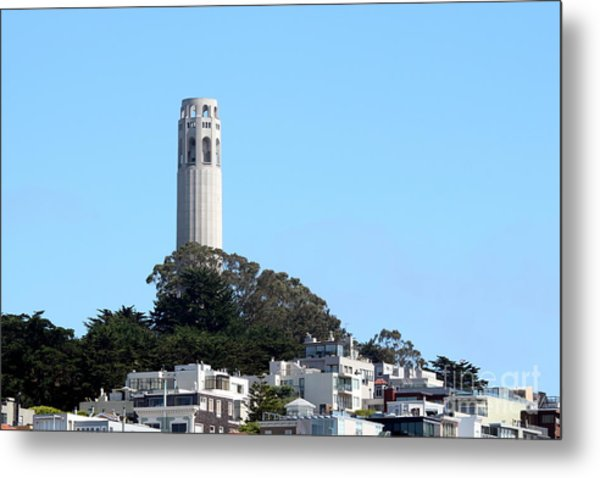 Coit Tower Metal Print