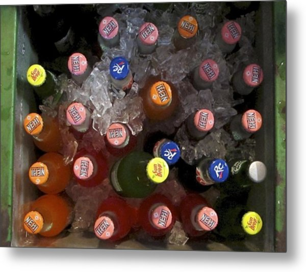 Metal Print featuring the photograph Cold Drink by Ralph Jones