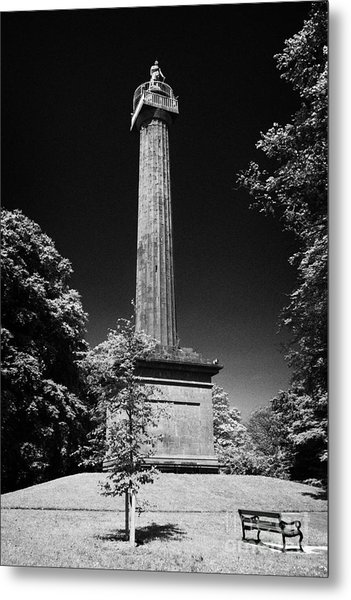 Cole Memorial Monument Enniskillen Metal Print by Joe Fox