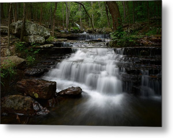Collins Creek Falls Metal Print