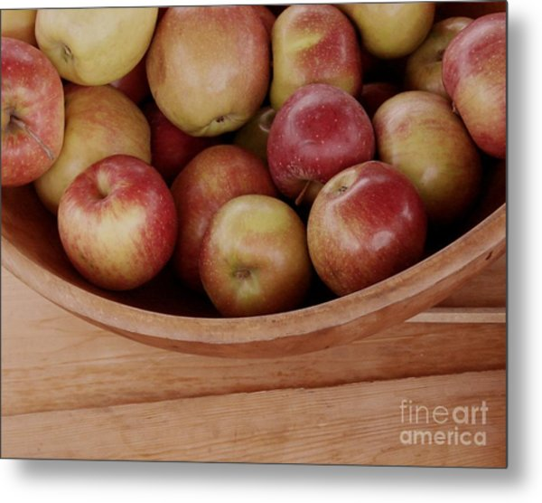 Colonial Apples Metal Print