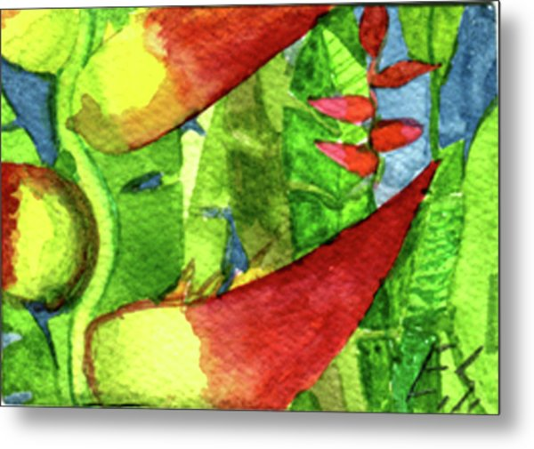 Color In The Jungle Metal Print