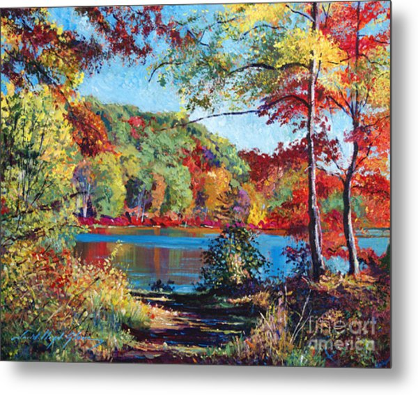 Color Rich Harriman Park Metal Print