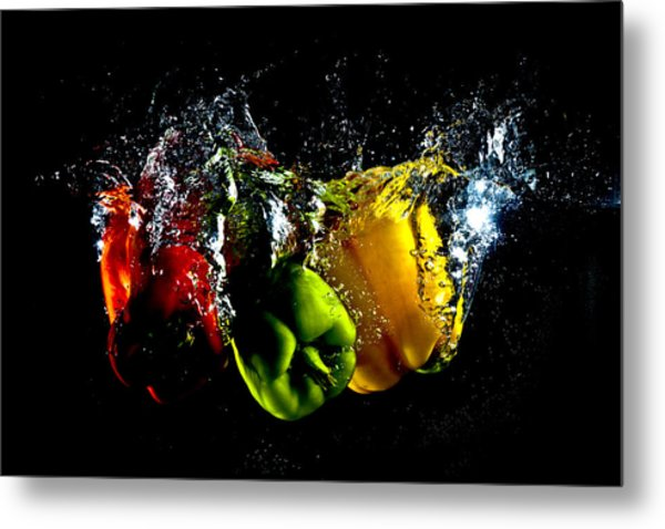 Color Splash Metal Print by Michael Murphy