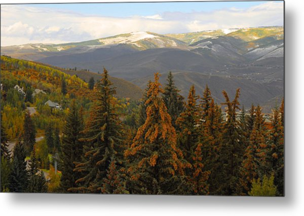 Colorada Mountains Metal Print
