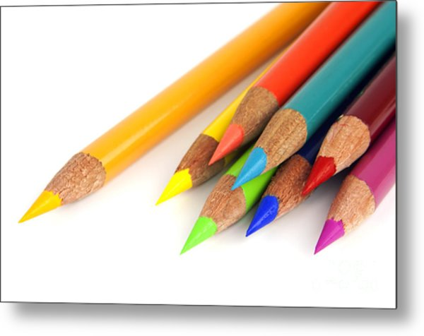 Colored Pencils Photograph By Blink Images