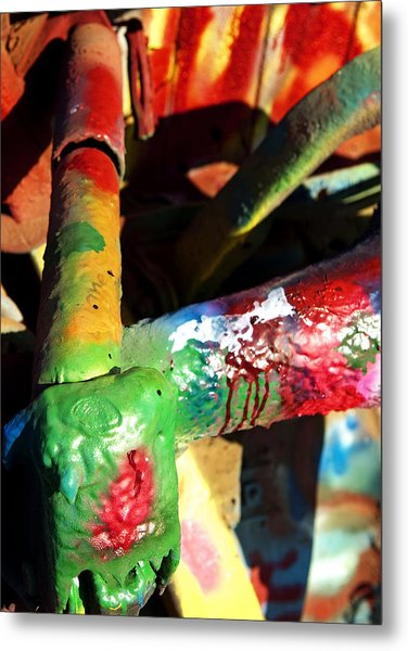 Colorful  Metal Print by Malania Hammer
