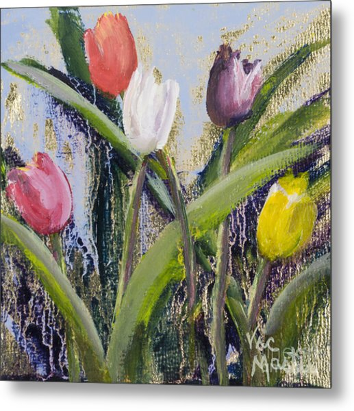 Colorful Tulip Series Metal Print