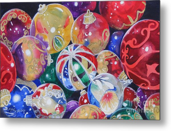 Colors Of Christmas ...sold  Metal Print