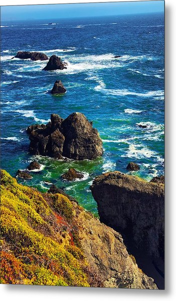 Colors Of The Pacific Metal Print
