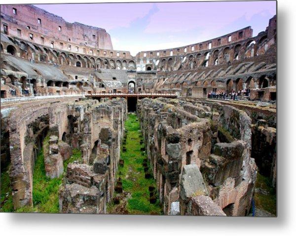 Colosseum Metal Print by Luiz Felipe Castro
