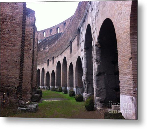 Colosseum Vomitorium Metal Print by Richard Chapman
