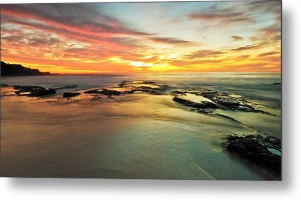 Colour On The Rock Metal Print