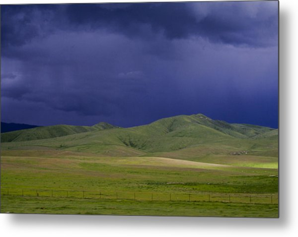 Coming Of The Storm Metal Print