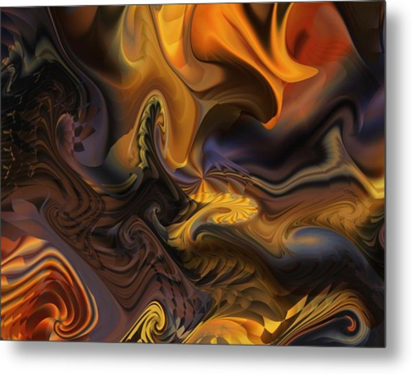 Concept And Movement Metal Print
