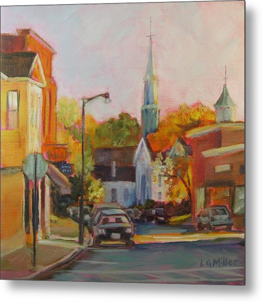 Concord Afternoon Metal Print by Laurie G Miller