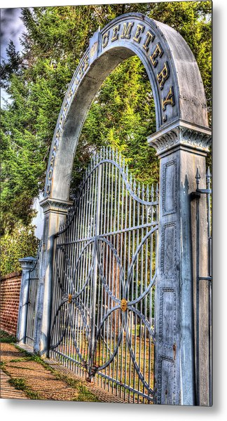 Confederate Graveyard Metal Print by JC Findley