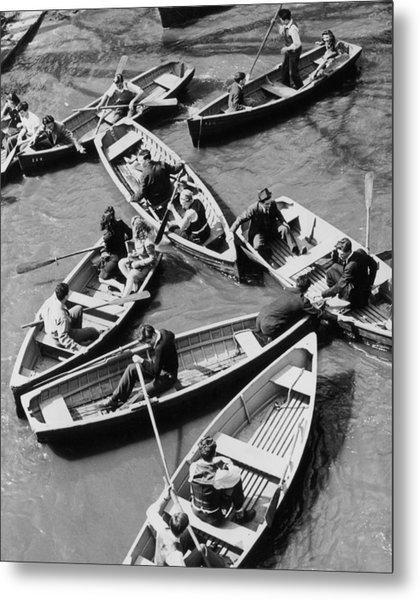Congested Boating Metal Print by Mac Gramlich