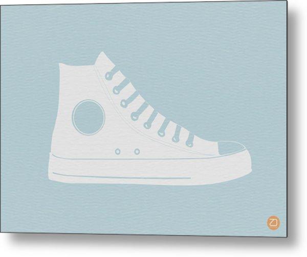 Converse Shoe Metal Print