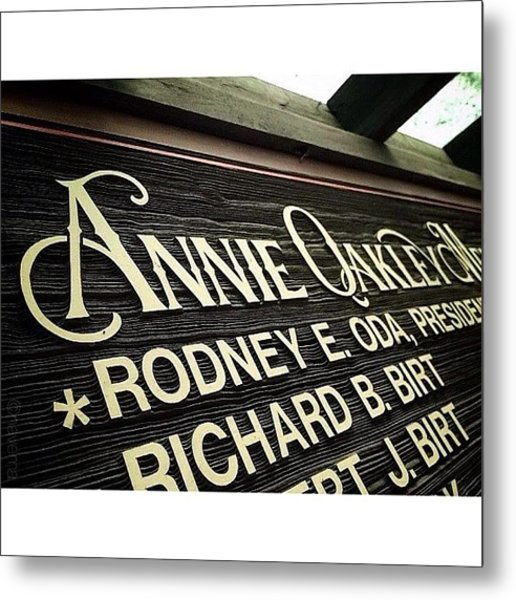 Cool Carved Capitals Metal Print