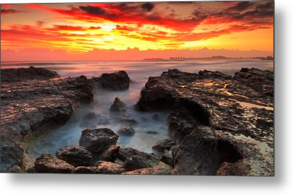 Coolongatta Gold Metal Print