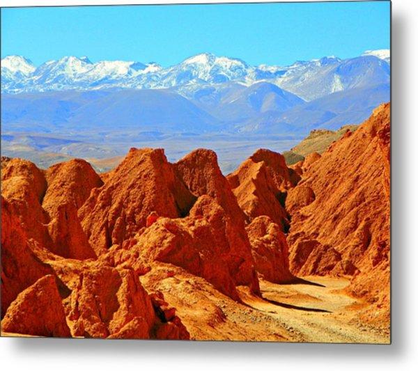 Cordillera De Los Dinosaurios Metal Print