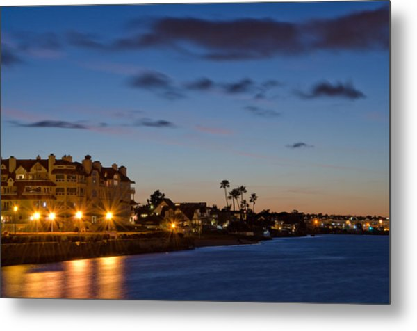 Metal Print featuring the photograph Coronado Sunset by Margaret Pitcher