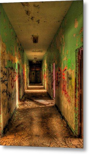 Corridor Of Shadows Metal Print by Heather  Boyd