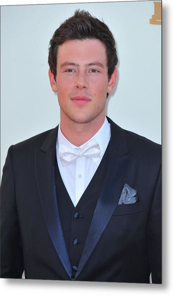 Cory Monteith At Arrivals For The 63rd Metal Print