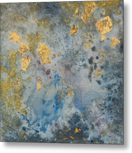 Cosmic 25 No. 2 Metal Print by Rita Bentley