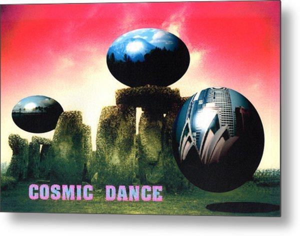 Cosmic Dance Metal Print