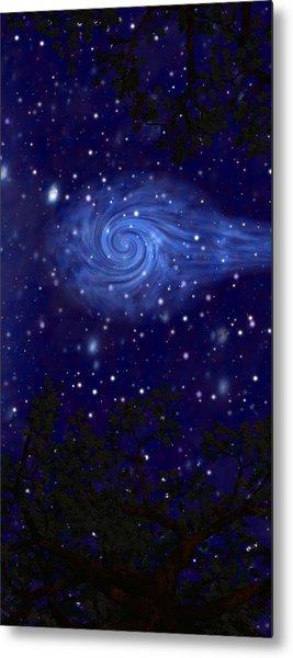Cosmic Messenger Metal Print by Diana Morningstar