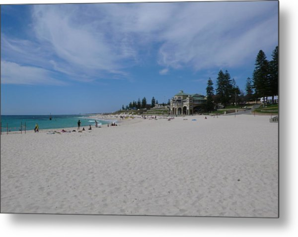 Cottesloe Beach Perth Metal Print by Gregory Smith