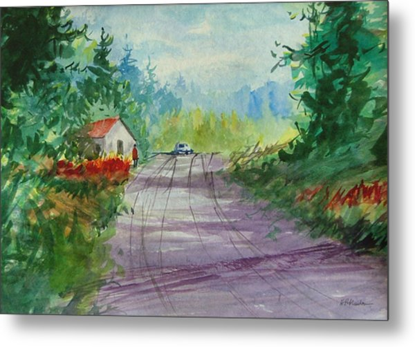 Country Road I Metal Print